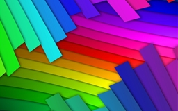 Colored lines abstract Mac wallpaper