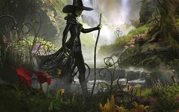 Great And Powerful Witch Mac wallpaper