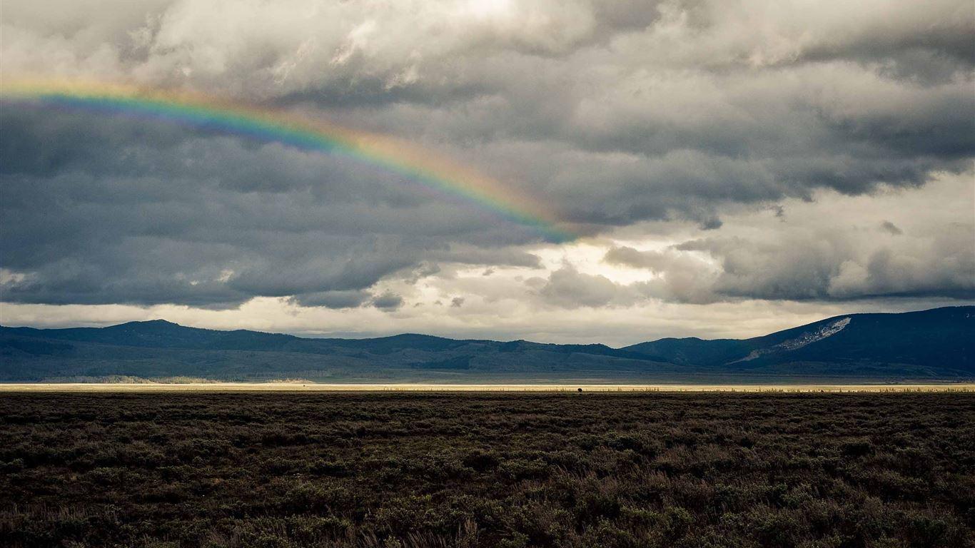 rainbow landscape mac wallpaper download free mac