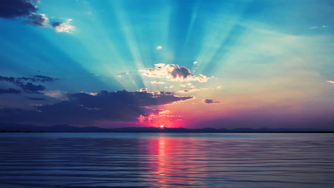 sunrise at sea mac wallpaper download free mac