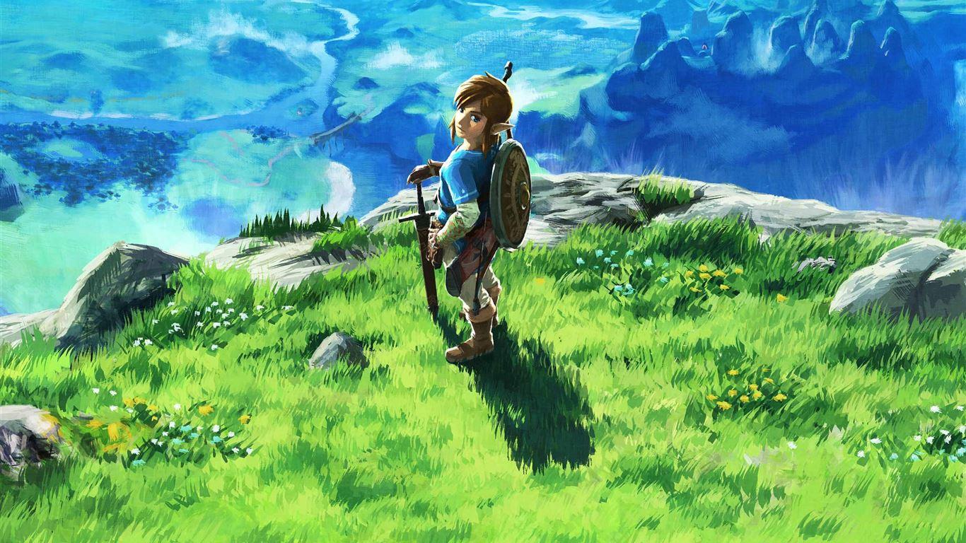 The Legend Of Zelda Breath Mac Wallpaper Download Allmacwallpaper