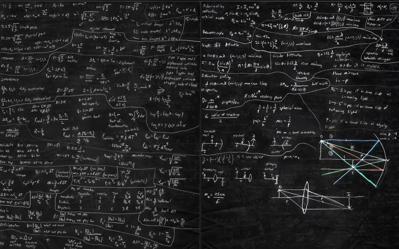 Blackboard And Math Mac Wallpaper Download
