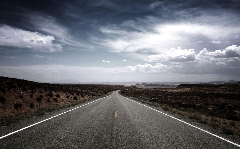Desert Road Mac Wallpa...