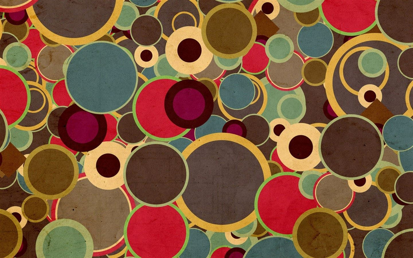 multicolor circles brown mac wallpaper download | free mac