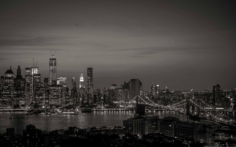 New York City Black And White Mac Wallpaper Download Free Mac