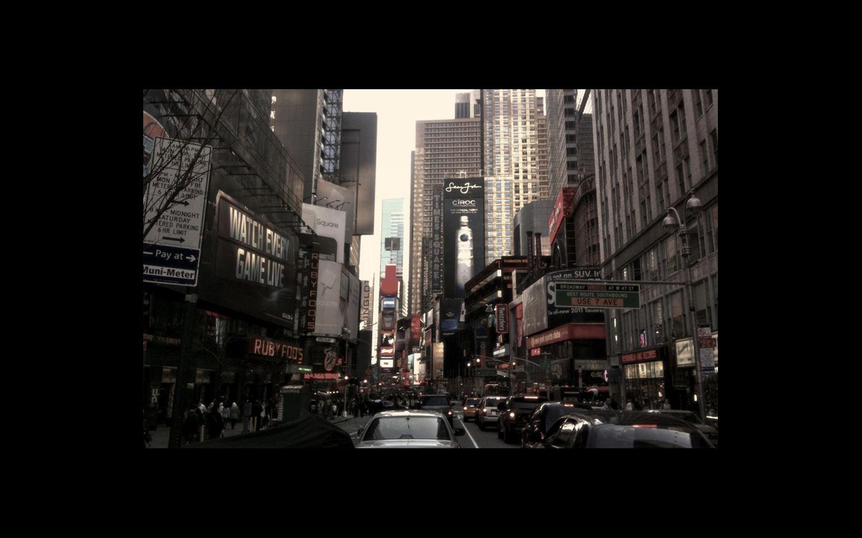 New York City Street Mac Wallpaper Download Allmacwallpaper