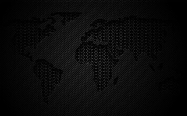 World Map Dark Mac Wallpaper Download Free Mac Wallpapers Download
