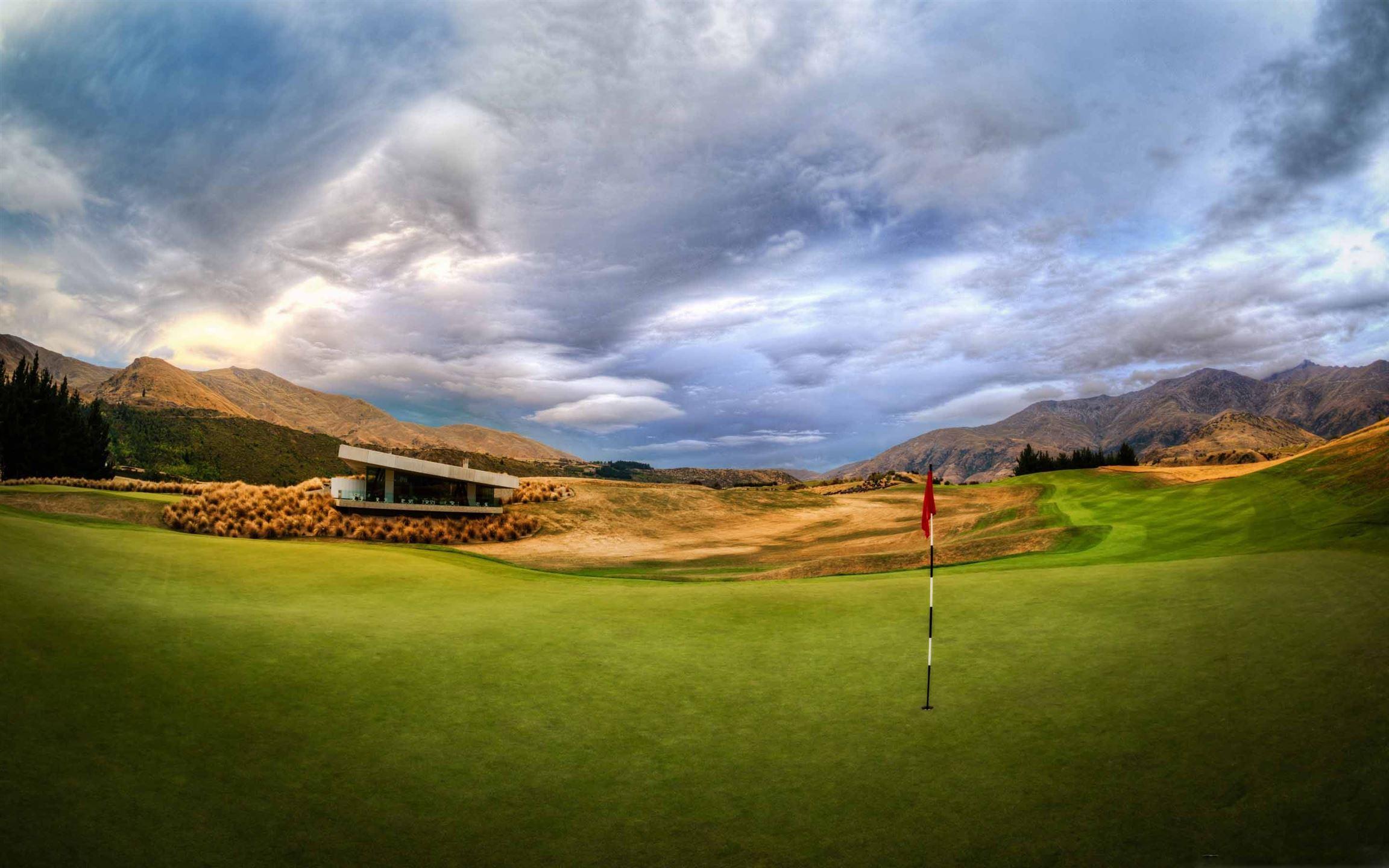 Beautiful Golf Course Macbook Air Wallpaper Download Allmacwallpaper