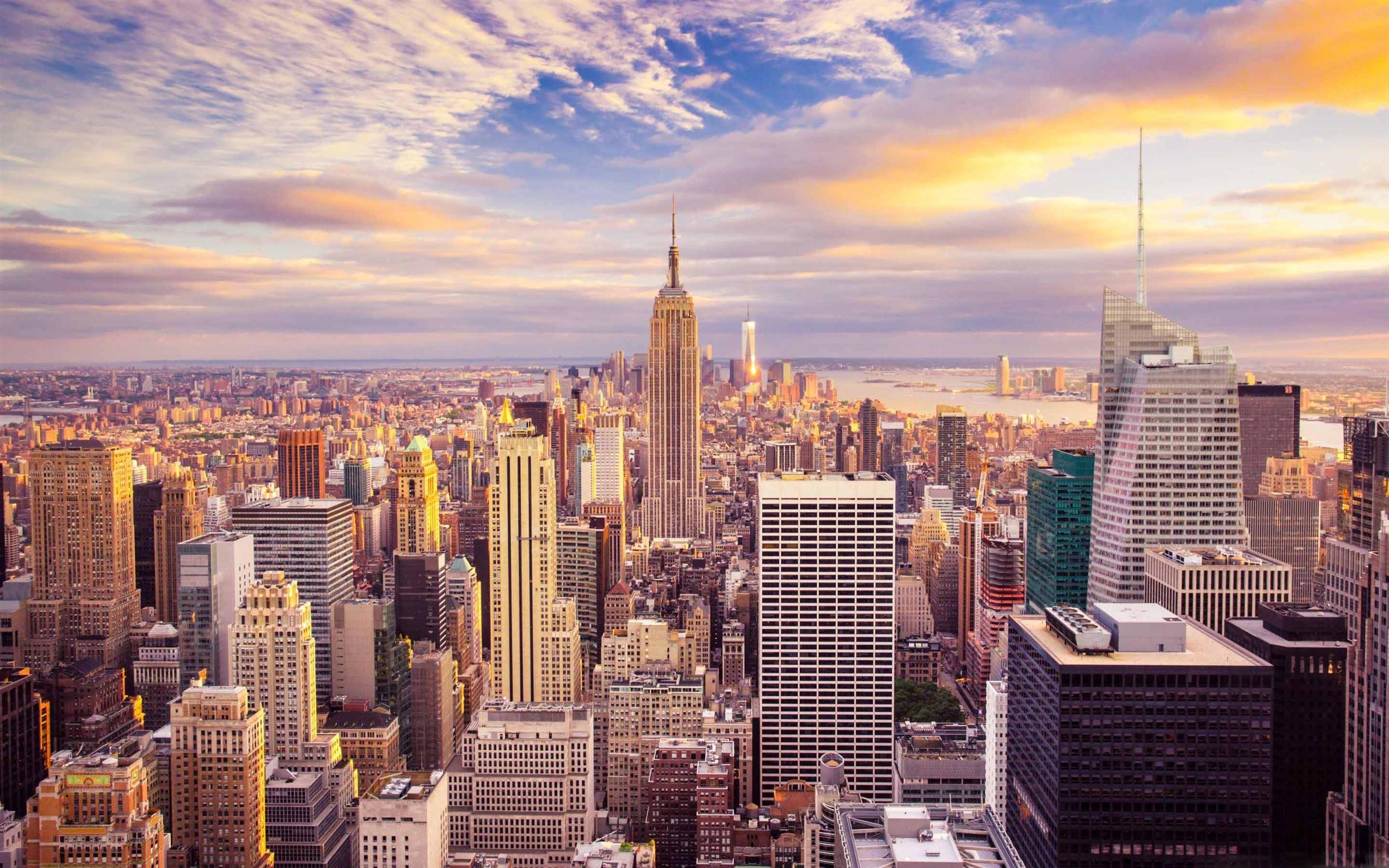 New York City Building Macbook Air Wallpaper Download Allmacwallpaper