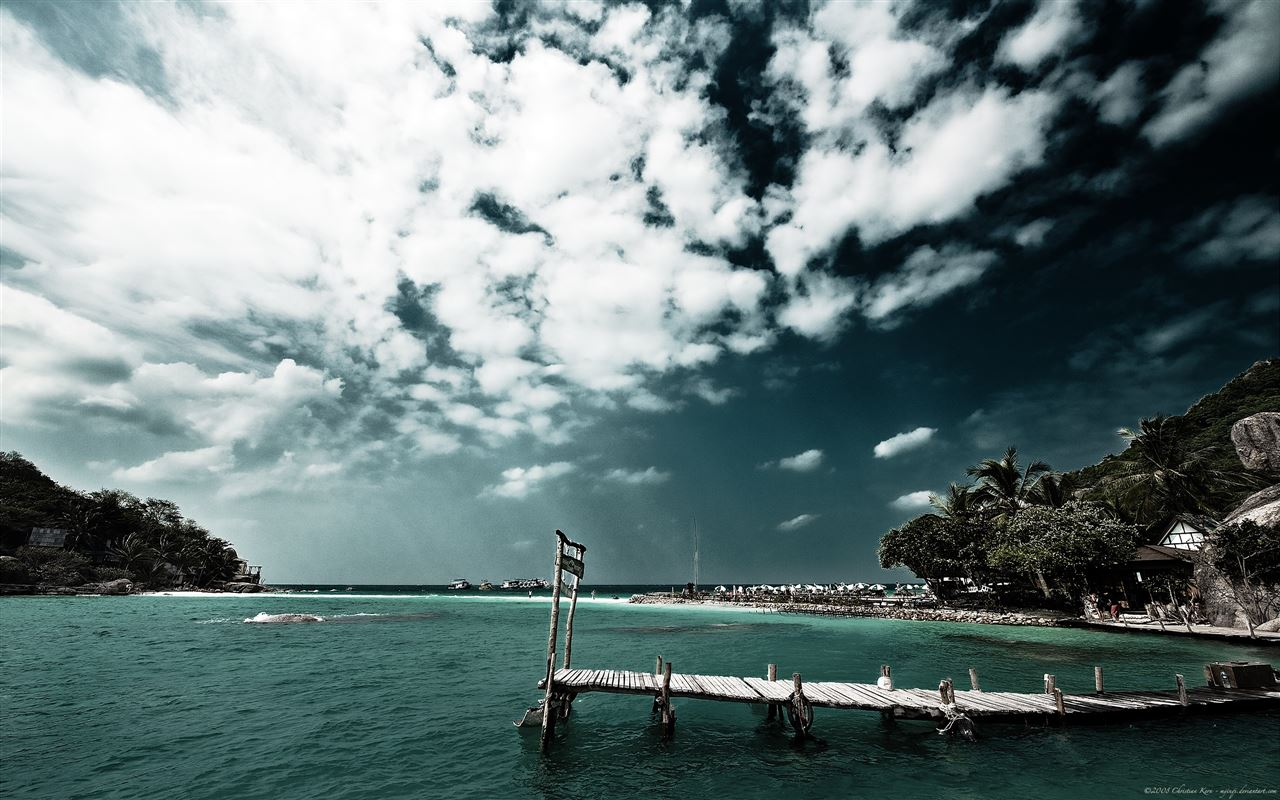 Tropical scenery Mac Wallpaper Download | Free Mac ...