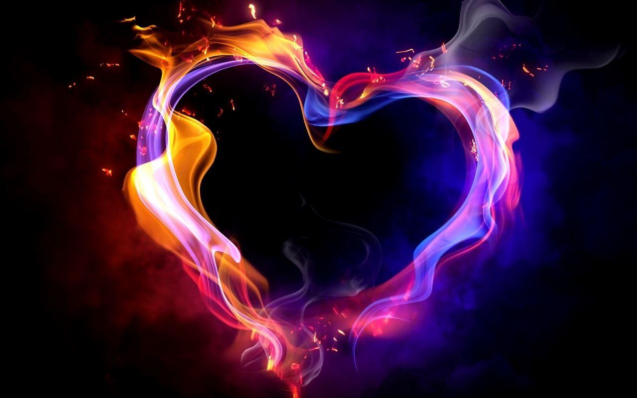 Fire Heart Mac Wallpaper Download | Free Mac Wallpapers ...