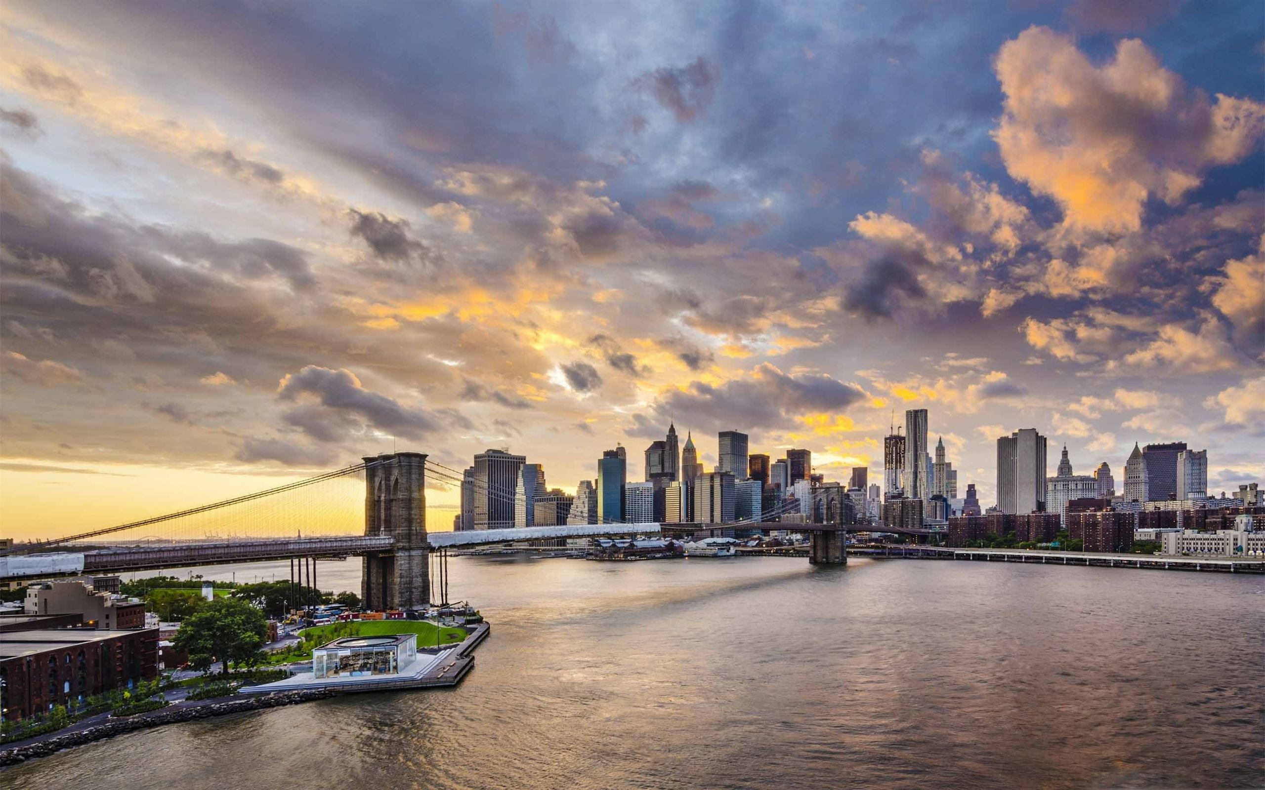 Brooklyn Bridge Mac Wallpaper Download Allmacwallpaper