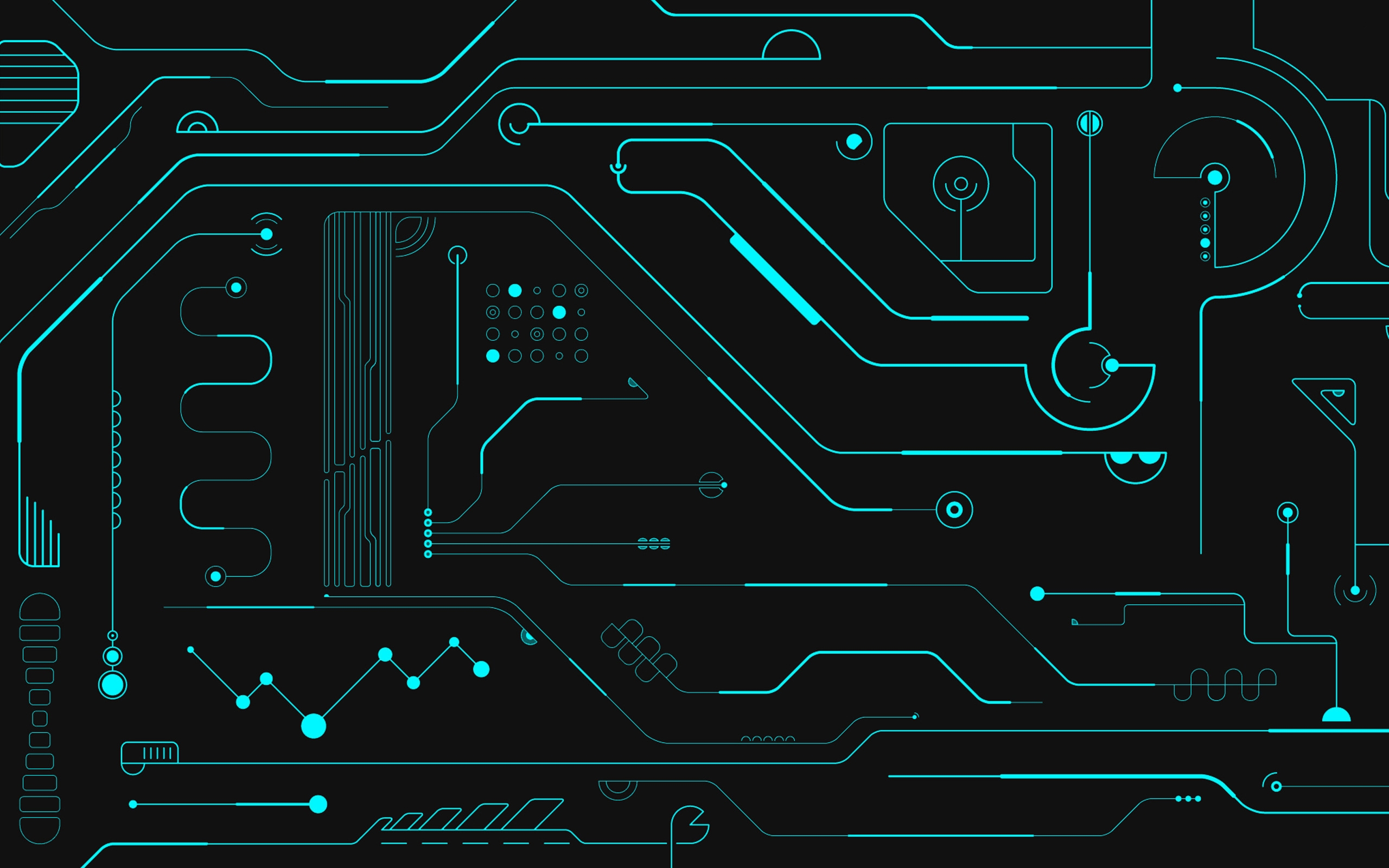 Circuit Board Mac Wallpaper Download