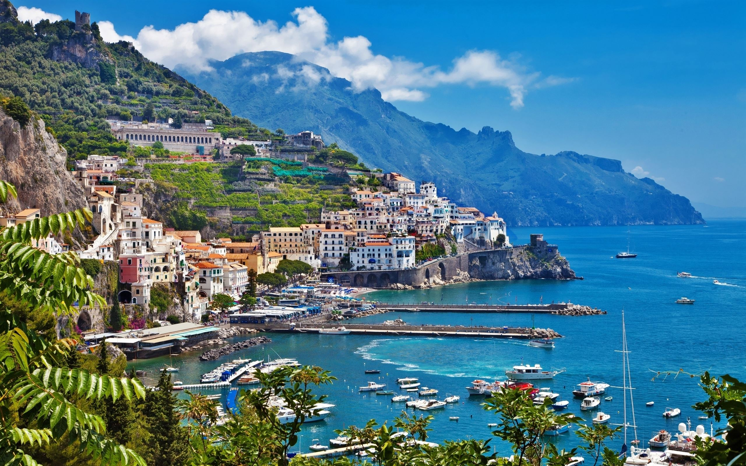 Greece Island City Landscape Mac Wallpaper Download