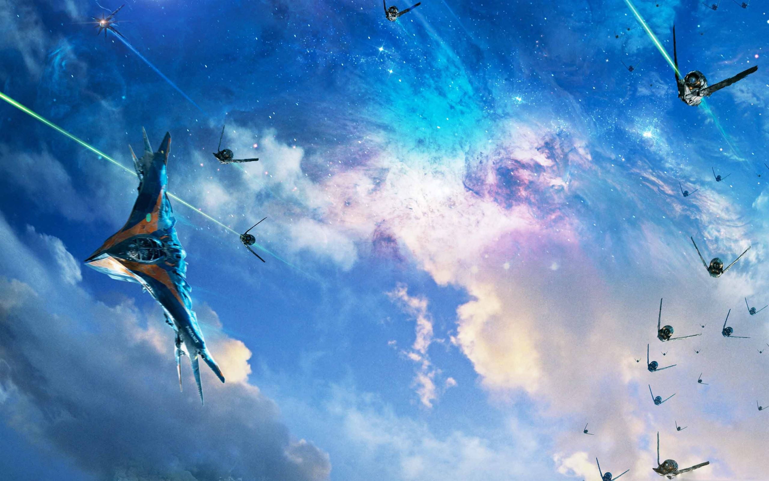 Guardians Of The Galaxy Spaceships Mac Wallpaper Download