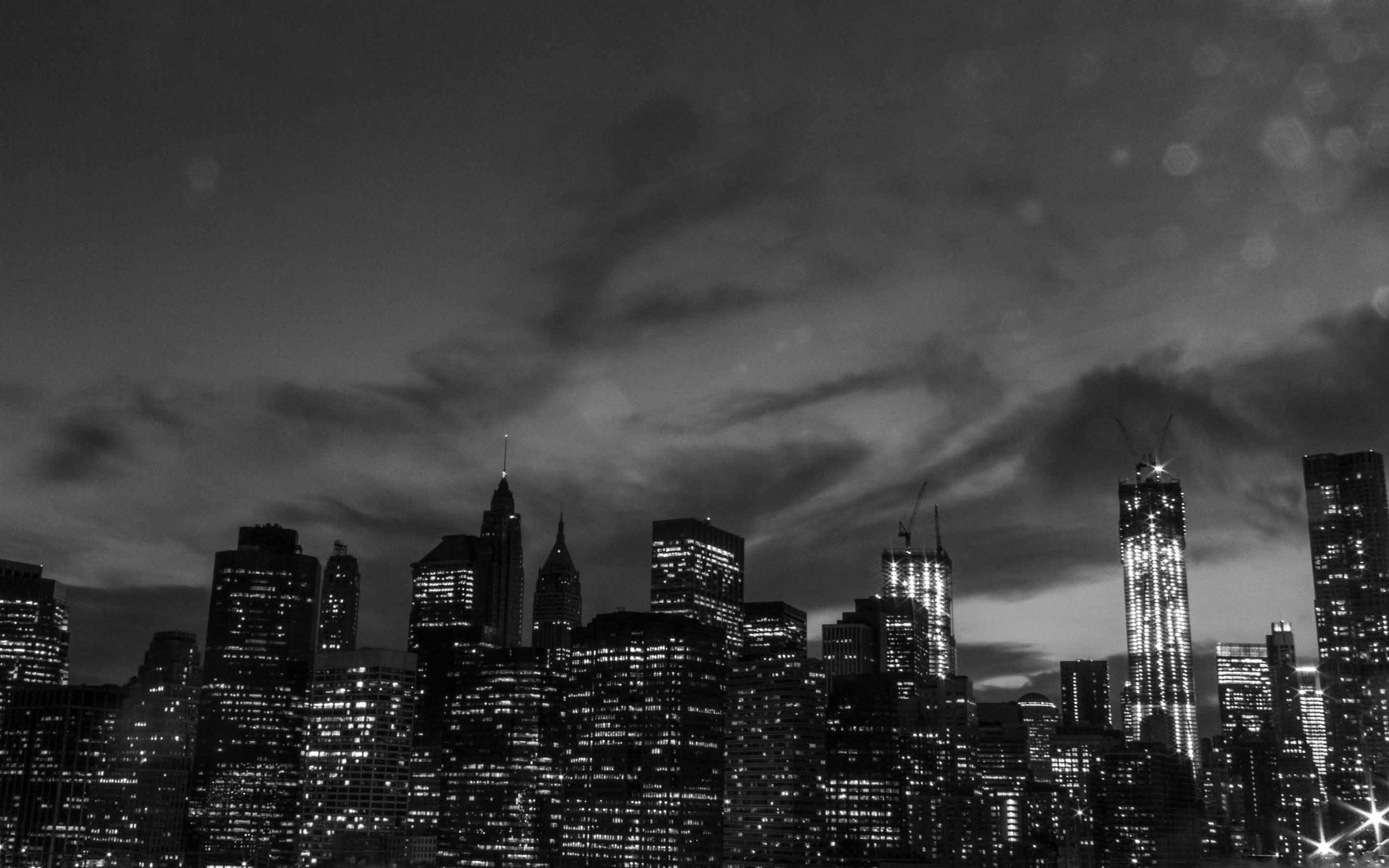 New York City Black And White Mac