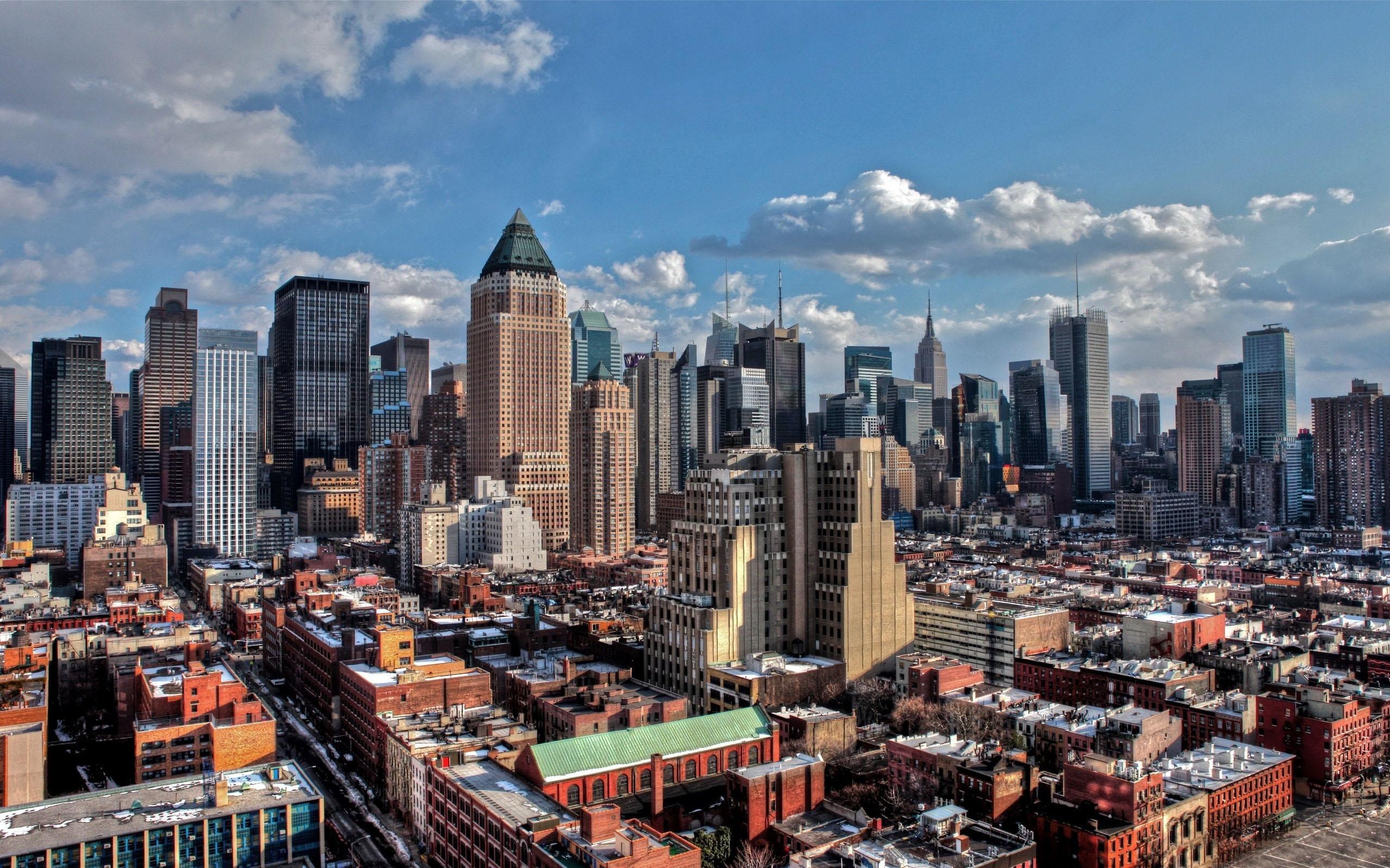 New York City Winter Mac Wallpaper Download Allmacwallpaper
