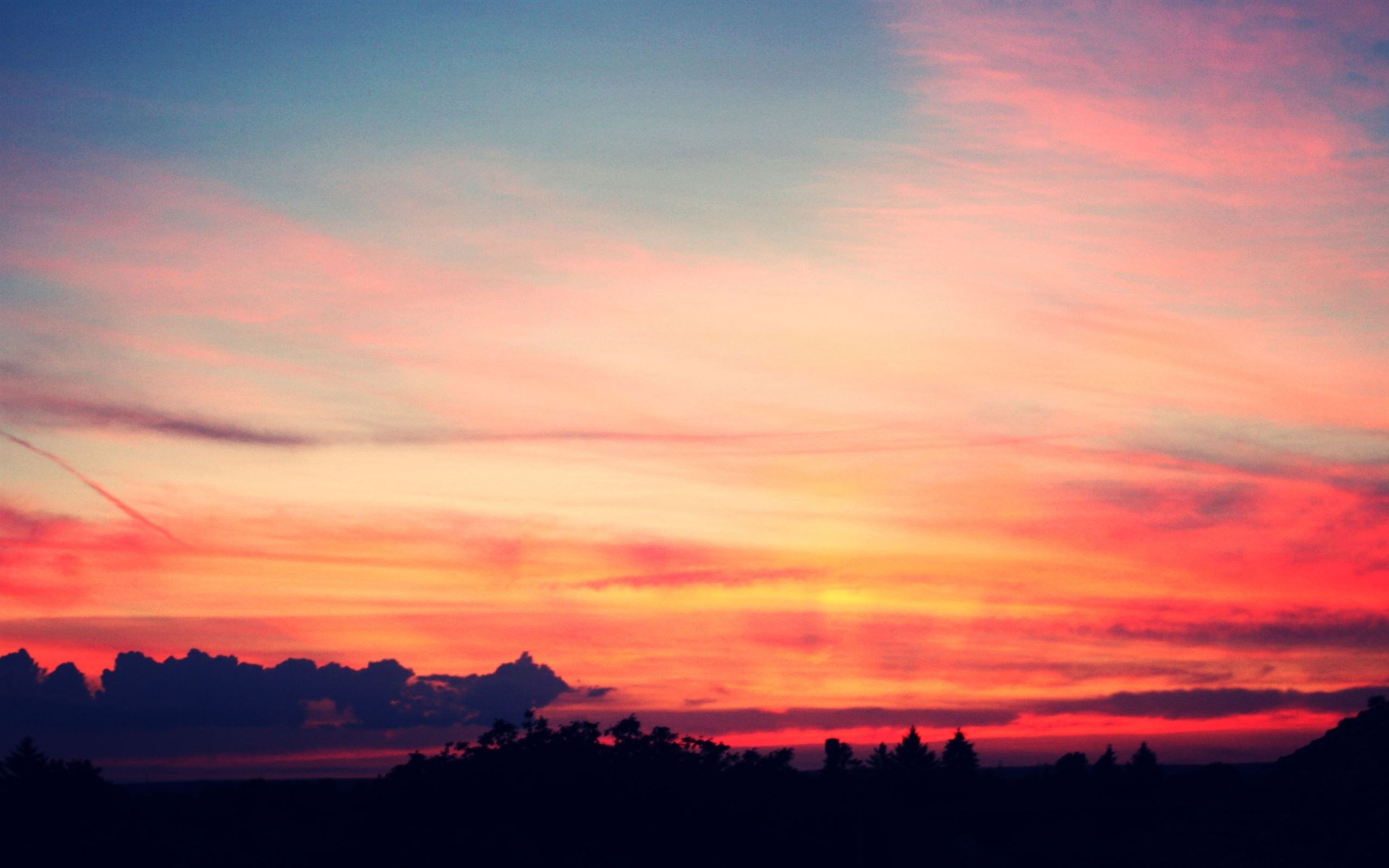 Sunset Wallpaper For Macbook Air