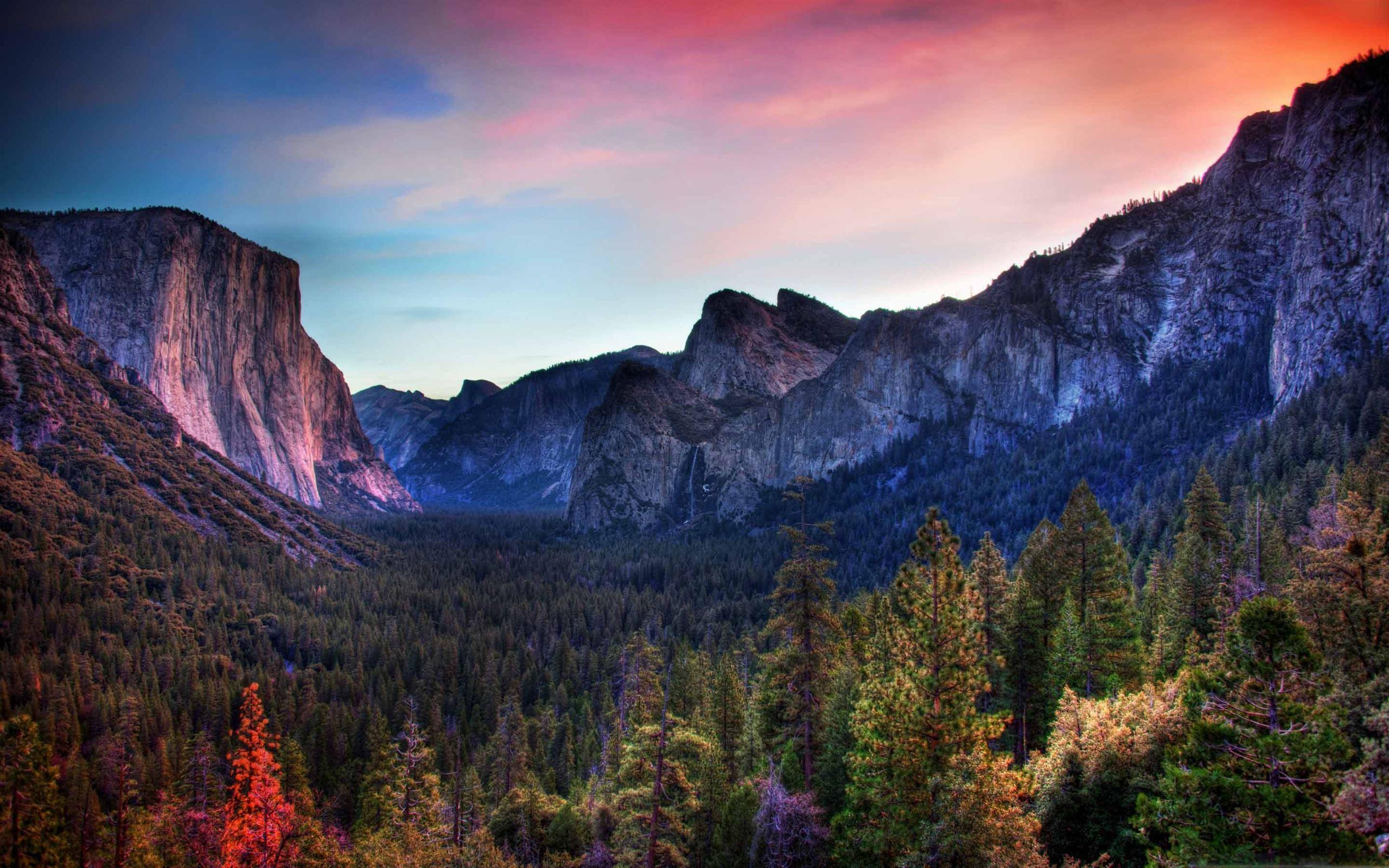 Yosemite Valley Mac Wallpaper Download