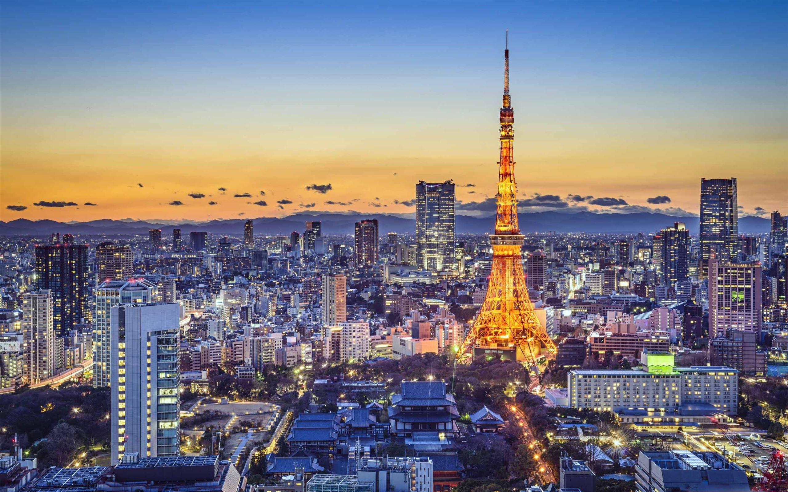 Tokyo Attractions Macbook Air Wallpaper Download Allmacwallpaper
