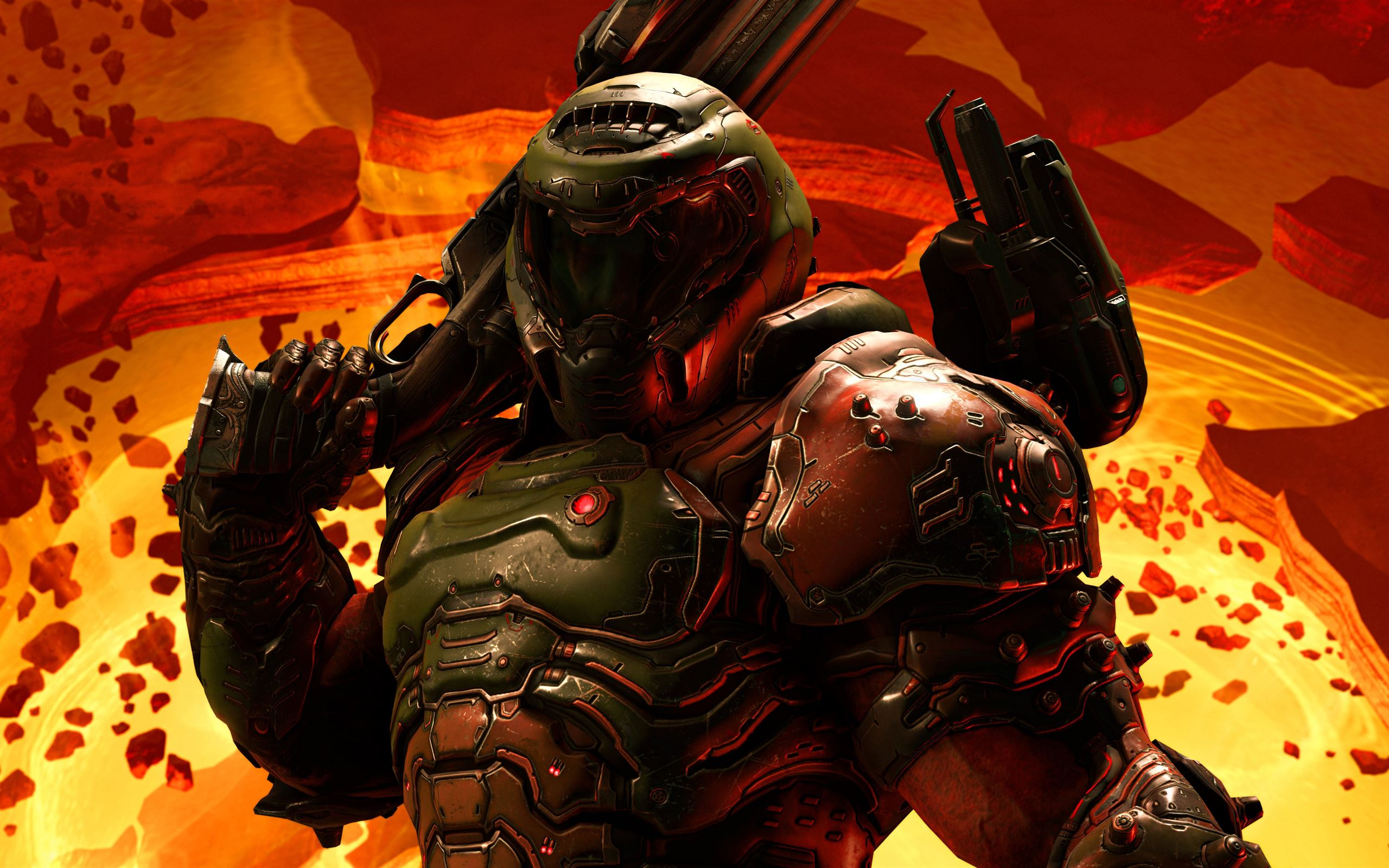 Doom Eternal 5k 2020 Macbook Pro Wallpaper Download Allmacwallpaper