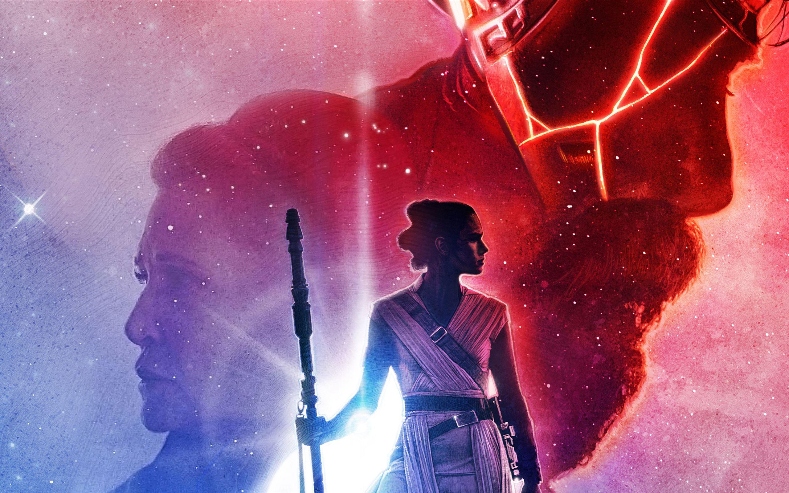 Star Wars The Last Jedi Art 5k Macbook Air Wallpaper Download Allmacwallpaper