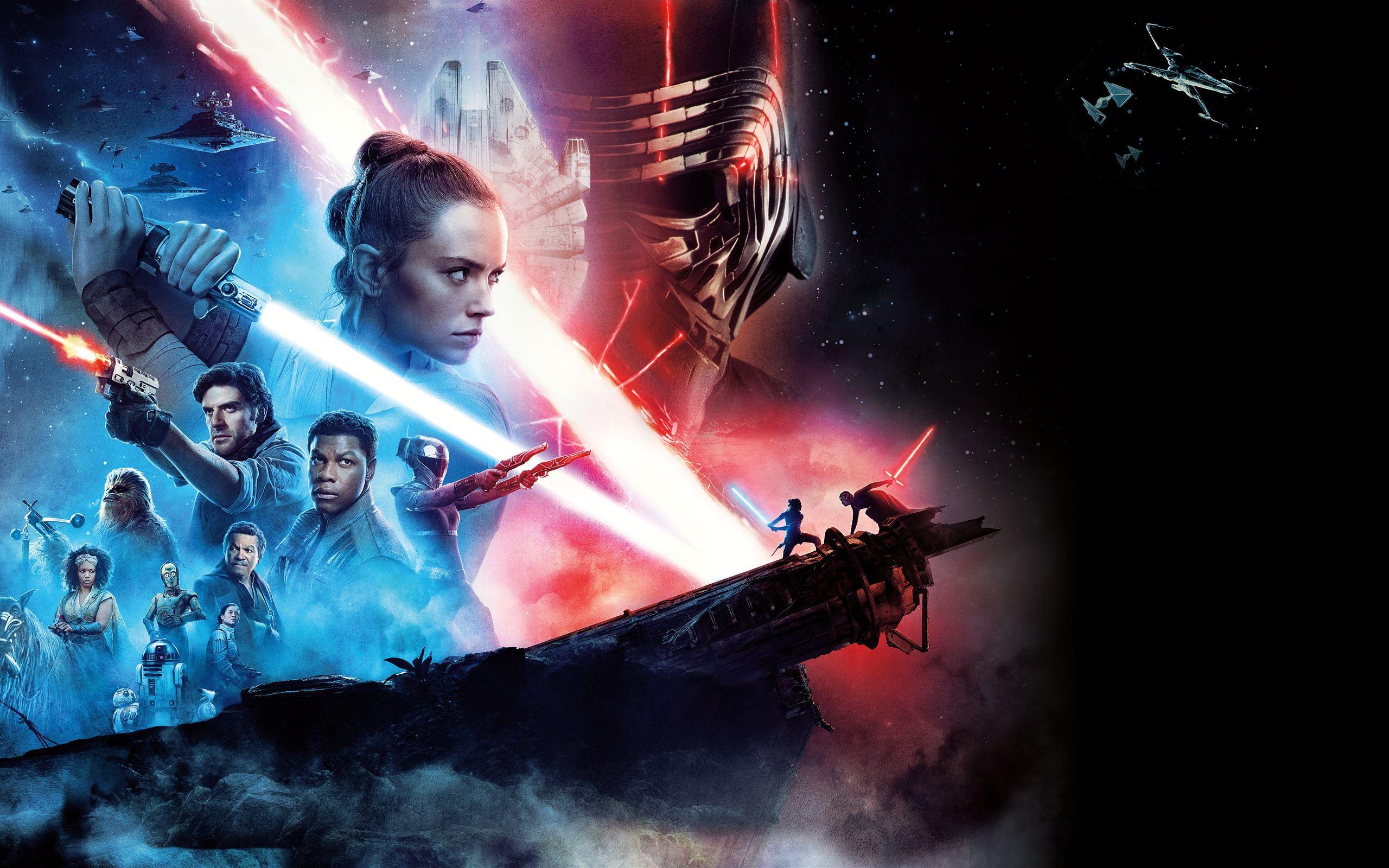 Star Wars The Rise Of Skywalker 12k Macbook Air Wallpaper Download Allmacwallpaper