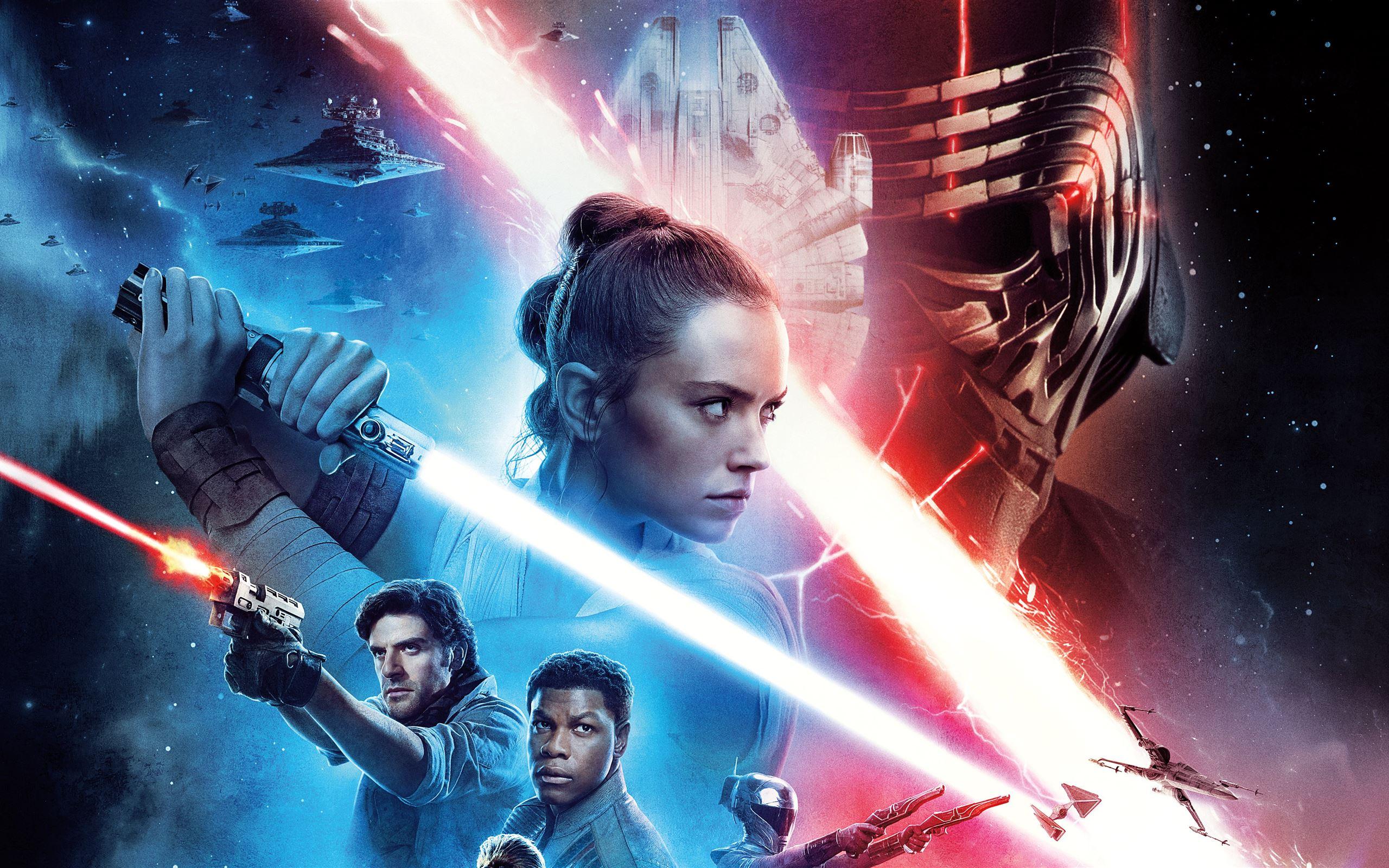 Star Wars The Rise Of Skywalker 8k Macbook Air Wallpaper Download Allmacwallpaper
