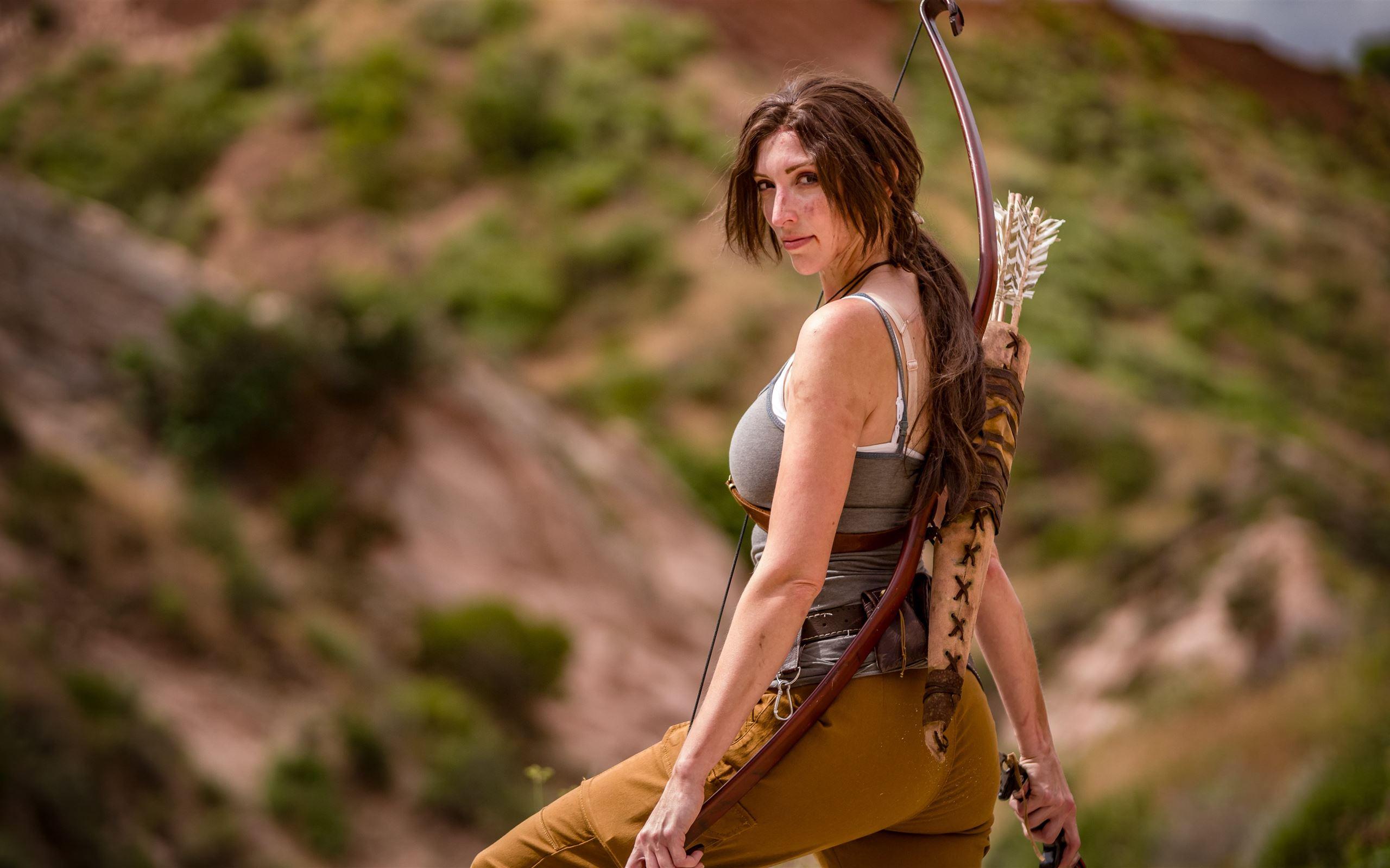 Lara cosplay sexy croft Lara Croft