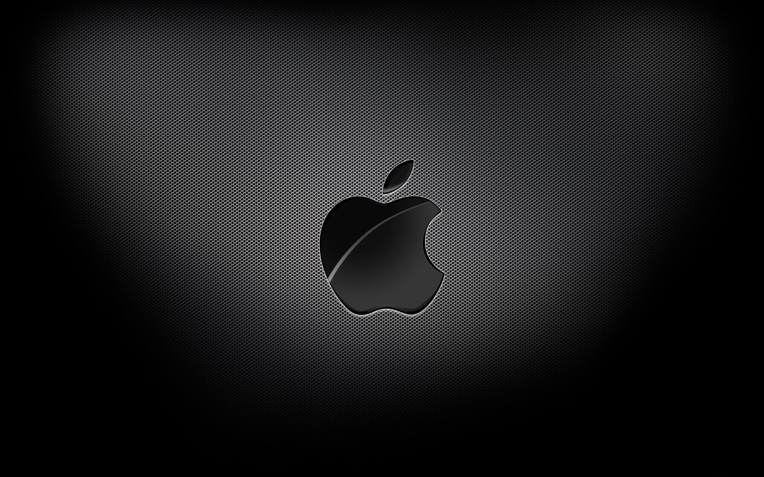 Aapple Black Background Mac Wallpaper Download Free Mac Wallpapers