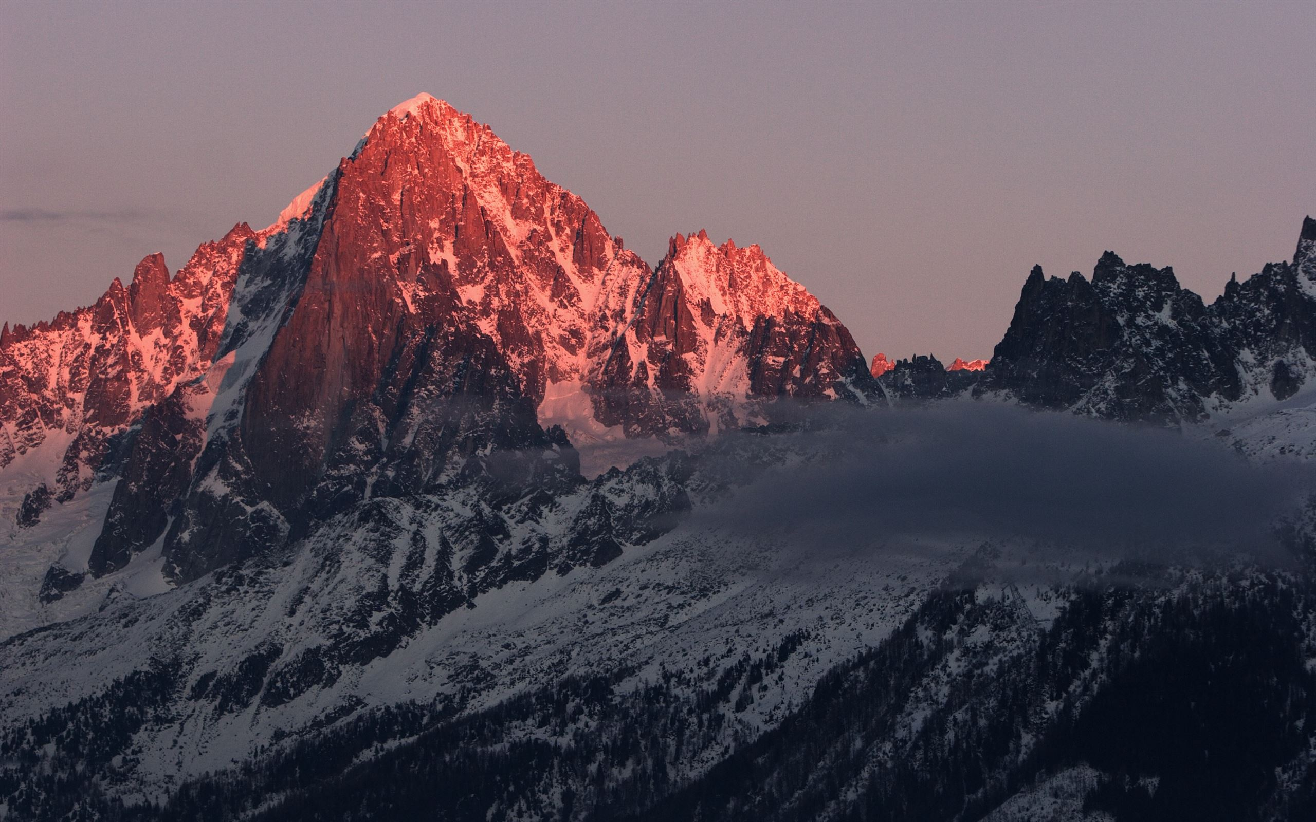 Snow mountain Mac Wallpaper Download | AllMacWallpaper