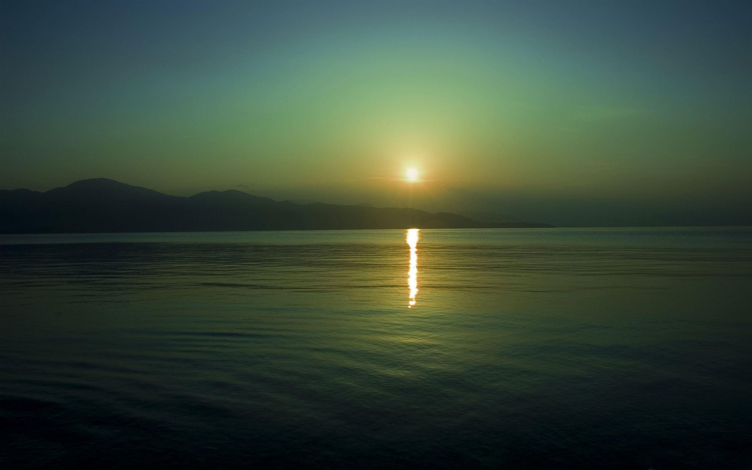 Sun reflection sunset Mac Wallpaper Download | AllMacWallpaper