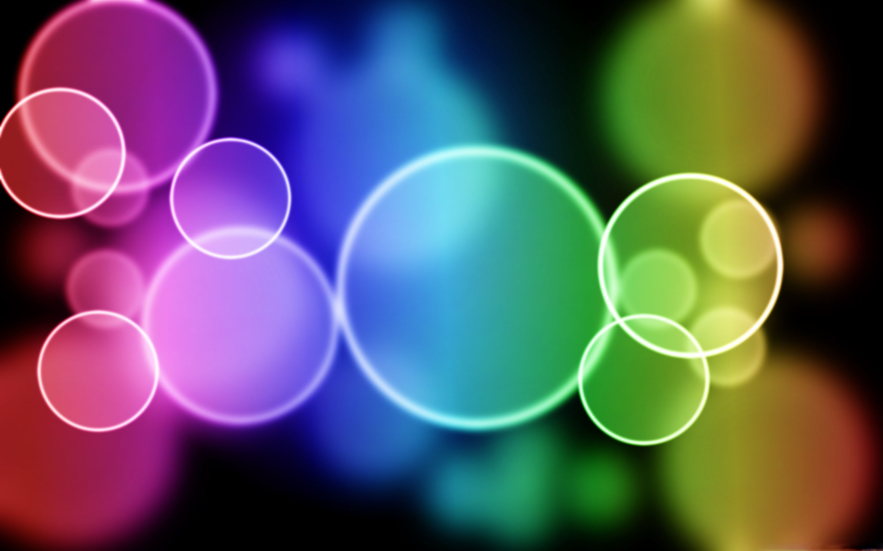 Colorful Bubbles Mac Wallpaper Download | Free Mac ...