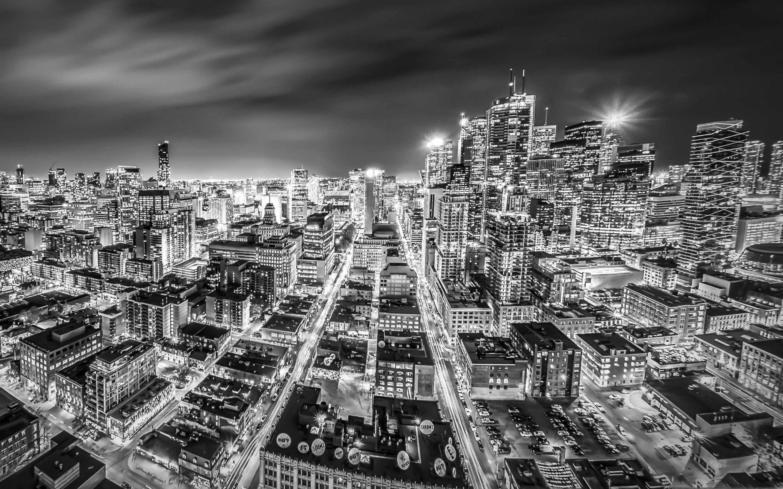 Downtown Toronto Night Mac Wallpaper Download Free Mac Wallpapers
