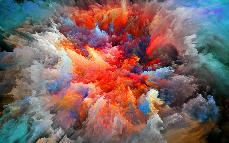 Explosion Of Colors Mac Wallpaper Download