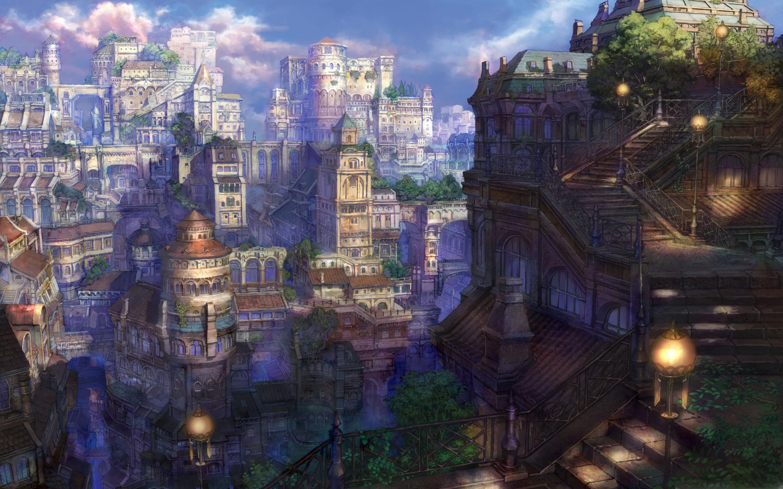 Fantasy Town Mac Wallpaper Download | Free Mac Wallpapers