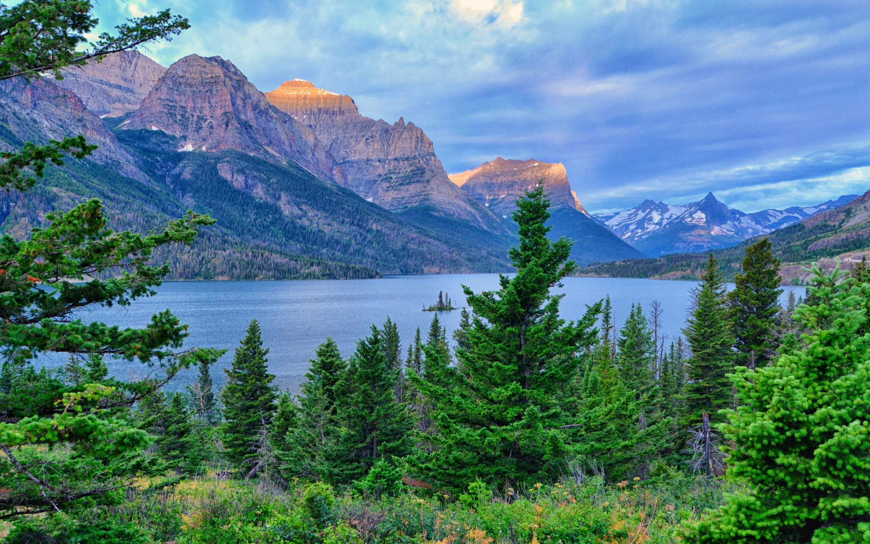 Glacier National Park Mac Wallpaper Download Allmacwallpaper