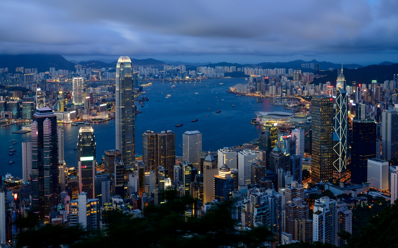 Hong Kong City View Mac Wallpaper Download Free Mac Wallpapers