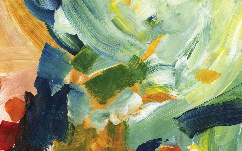 Paint Strokes Mac Wallpaper Download