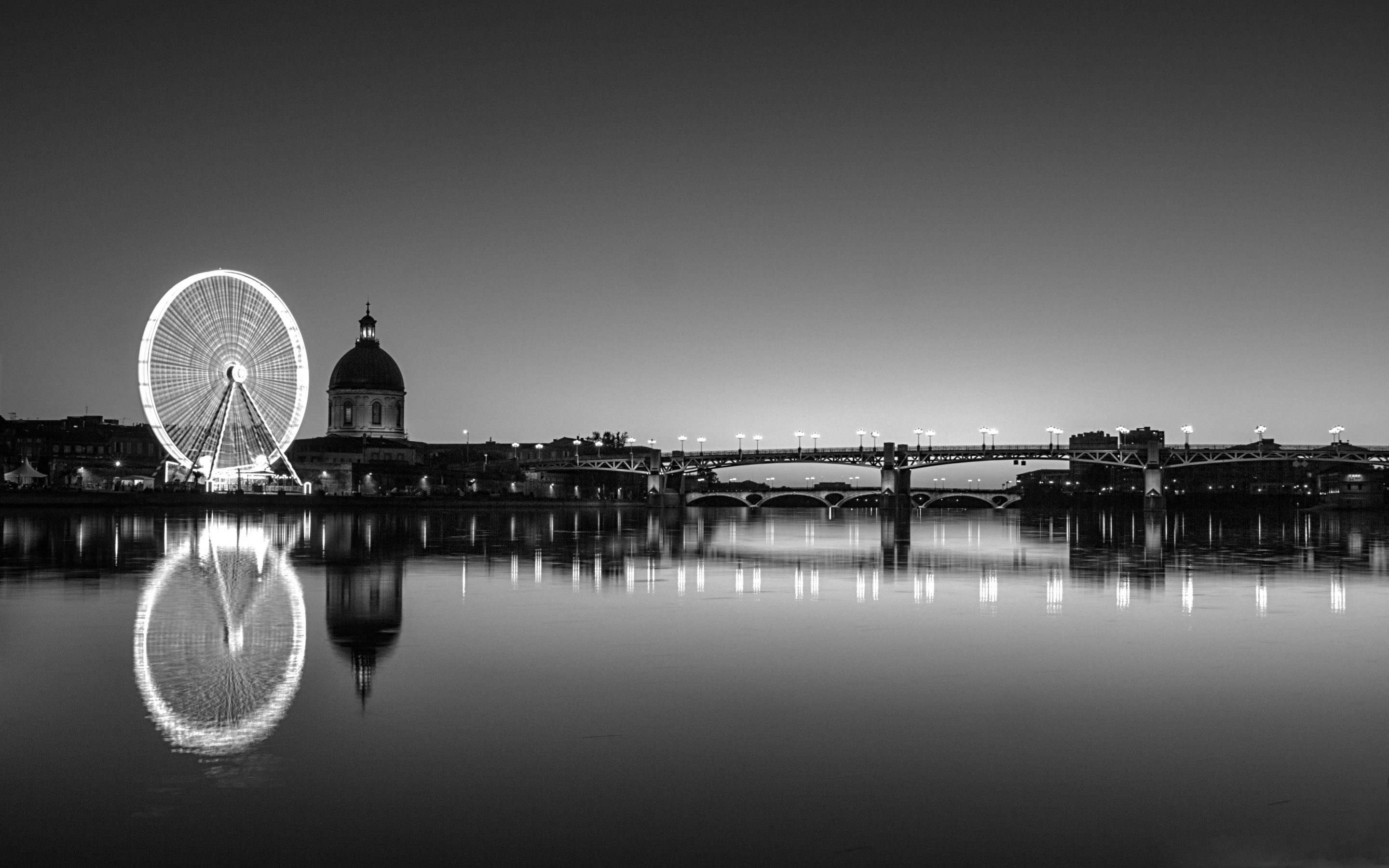 Toulouse Black And White Mac Wallpaper Download