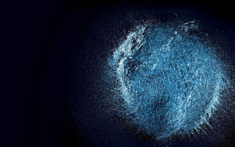 Water Explosion Mac Wallpaper Download | AllMacWallpaper