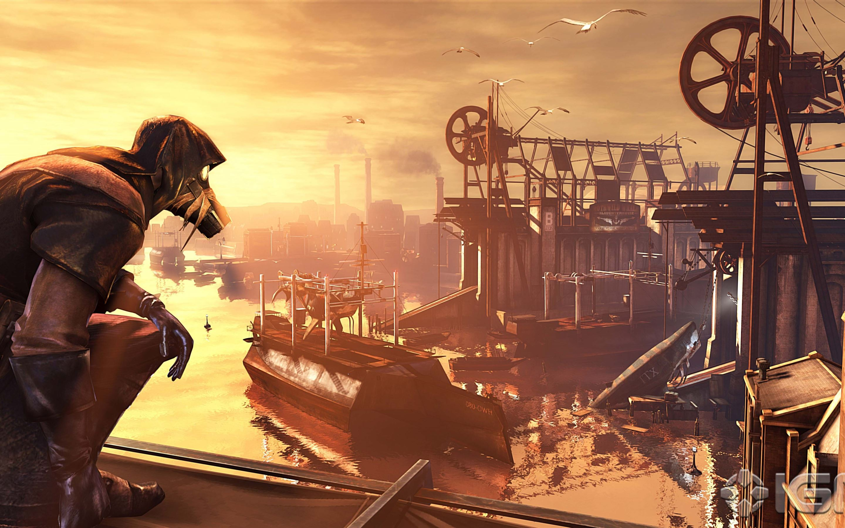 dishonored the knife of dunwall iMac Wallpaper Download ...
