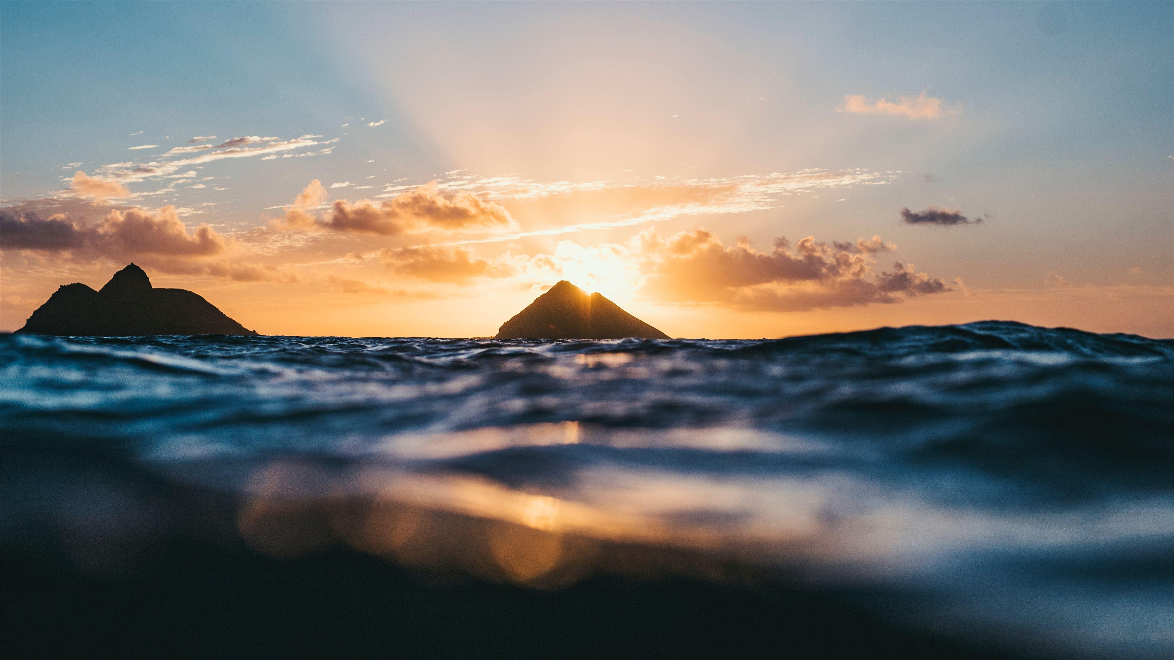 Lanikai Beach At Sunrise Mac Wallpaper Download