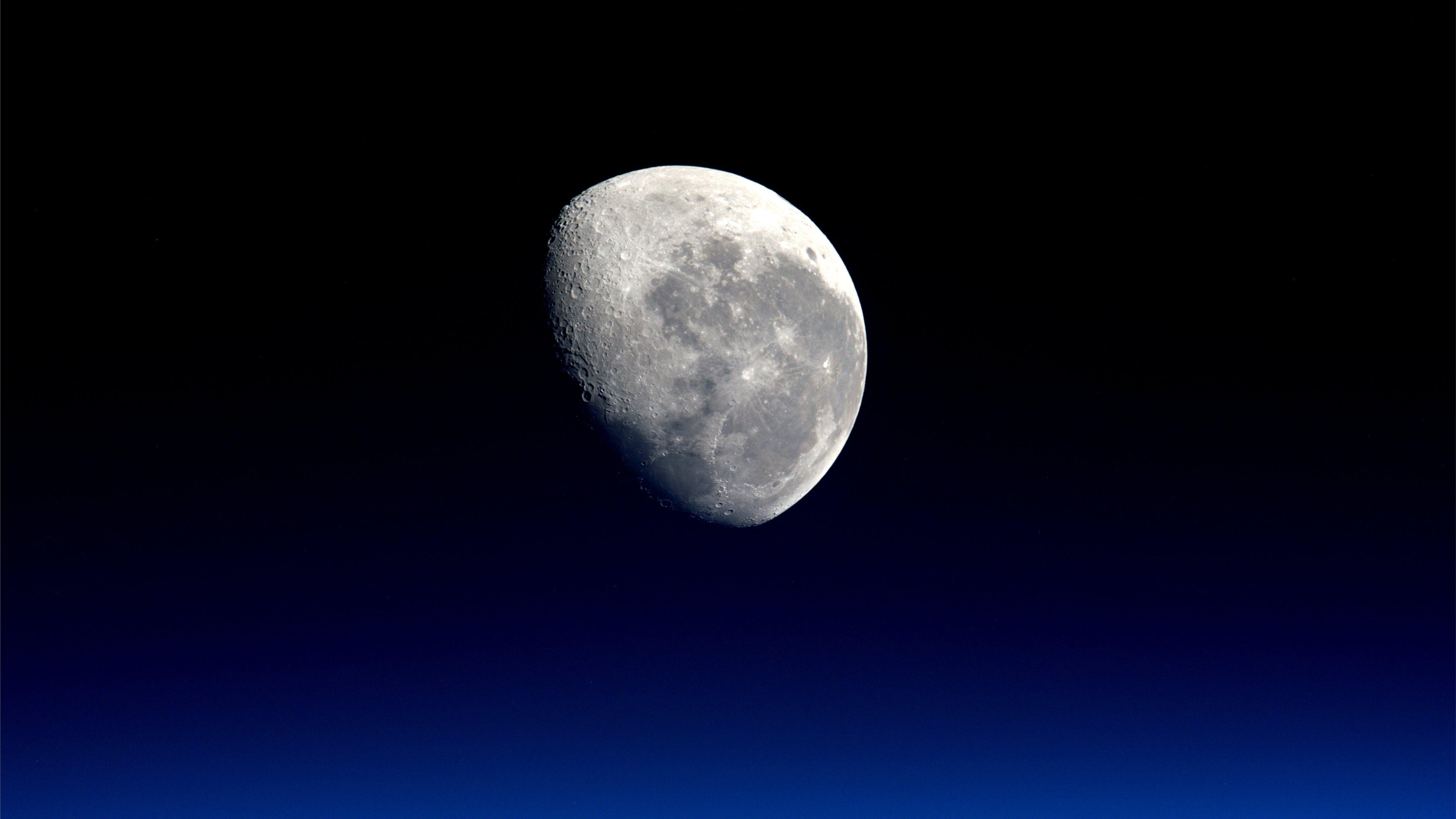Moon close-up by NASA Mac Wallpaper Download | AllMacWallpaper