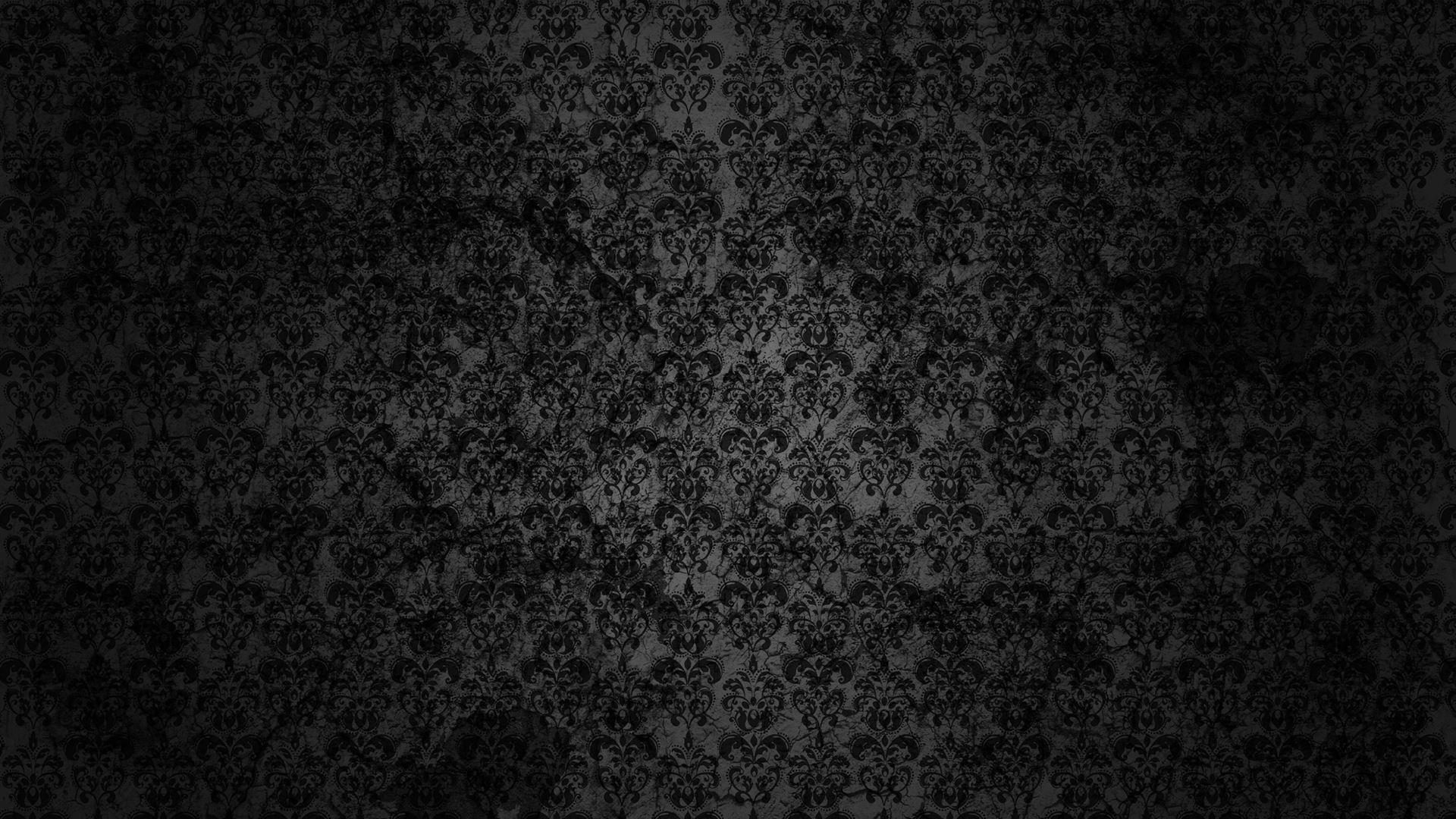 Black Floral Grunge Mac Wallpaper Download Allmacwallpaper
