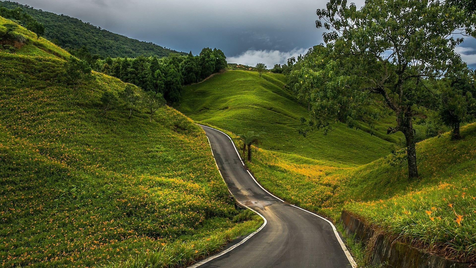 Mountain and road Mac Wallpaper Download | Free Mac ...