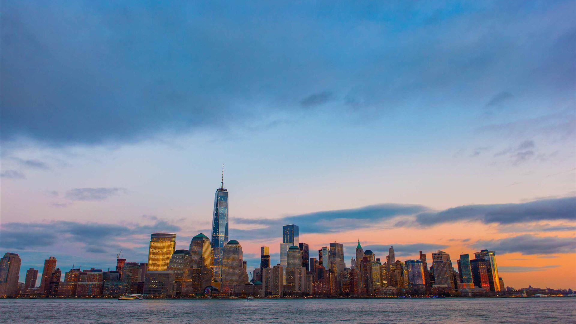 The Best New York City Skyline Wallpaper 1920X1080 Gif
