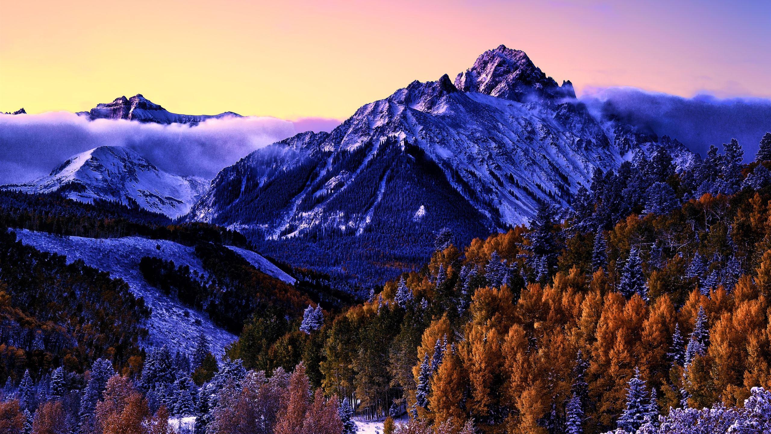 Beautiful snow mountain Mac Wallpaper Download | Free Mac ...