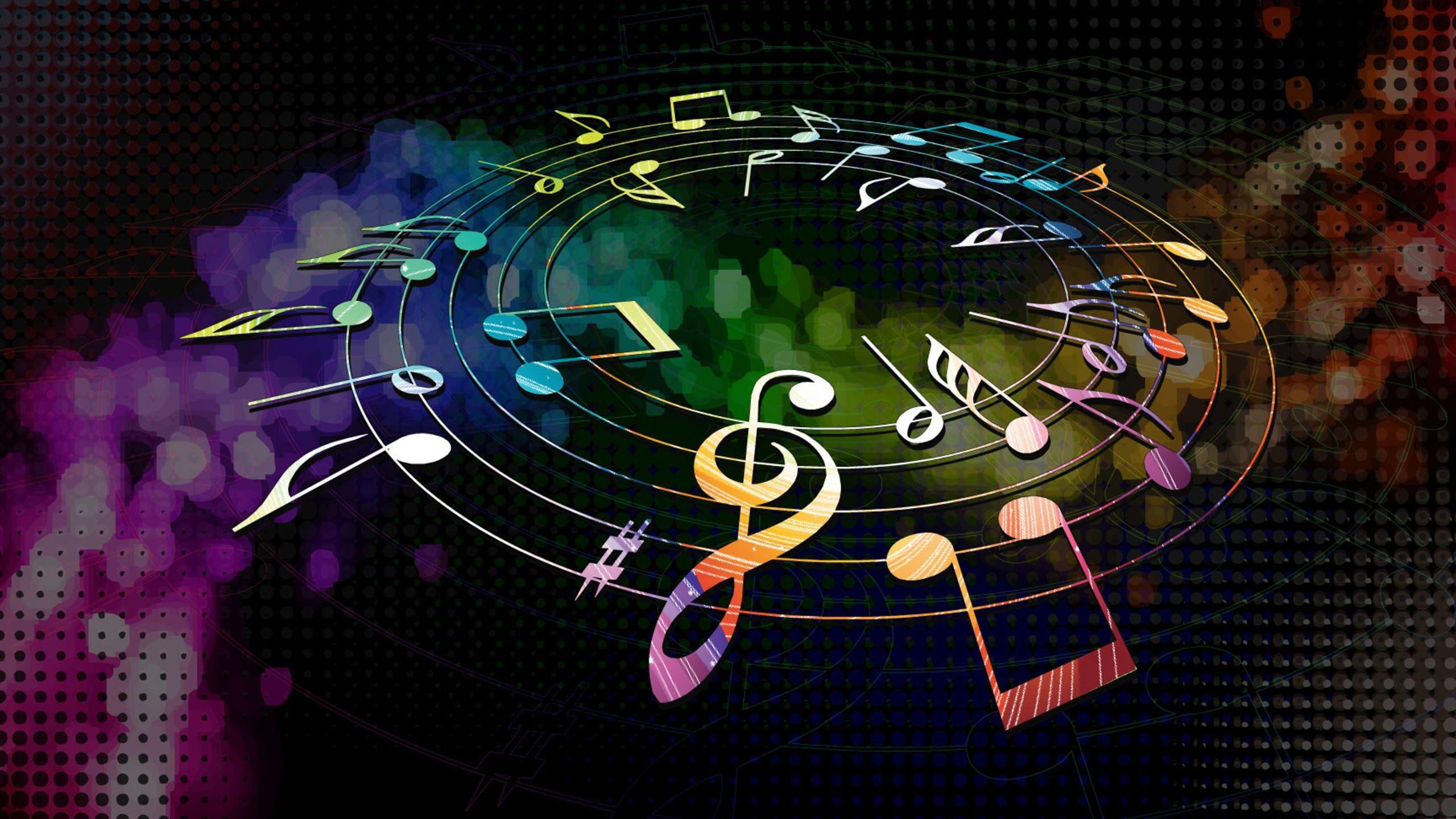 colorful musical notes mac wallpaper download free mac