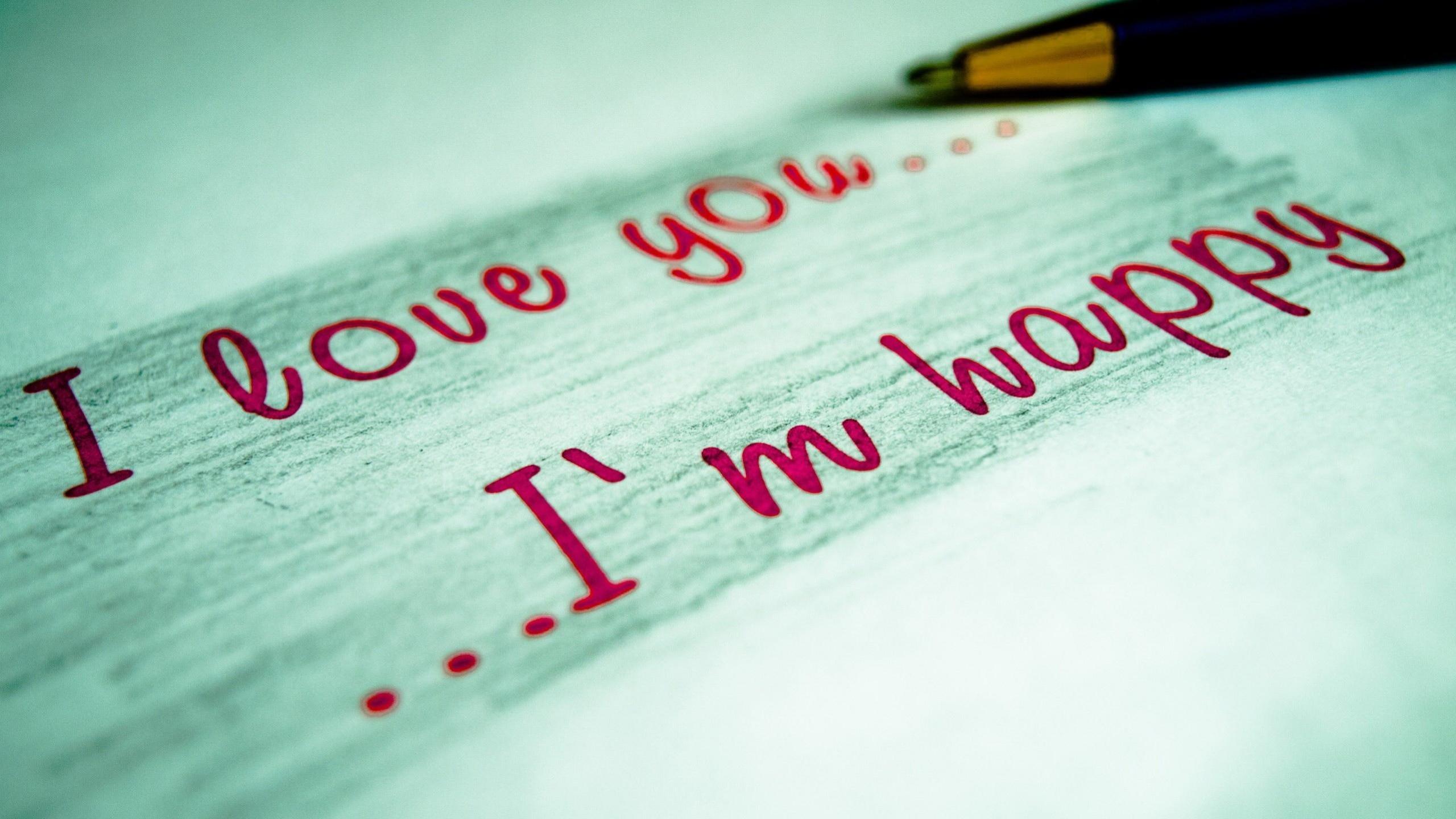 1920x1200 Wallpaper Resolutions Source I Love You M Happy True Message Mac Download Free